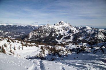 Nassfeld ohne Ski, Karnische Alpen, Gailtal, Kärnten, Foto Anita Arneitz, Reiseblog www.anitaaufreisen.at
