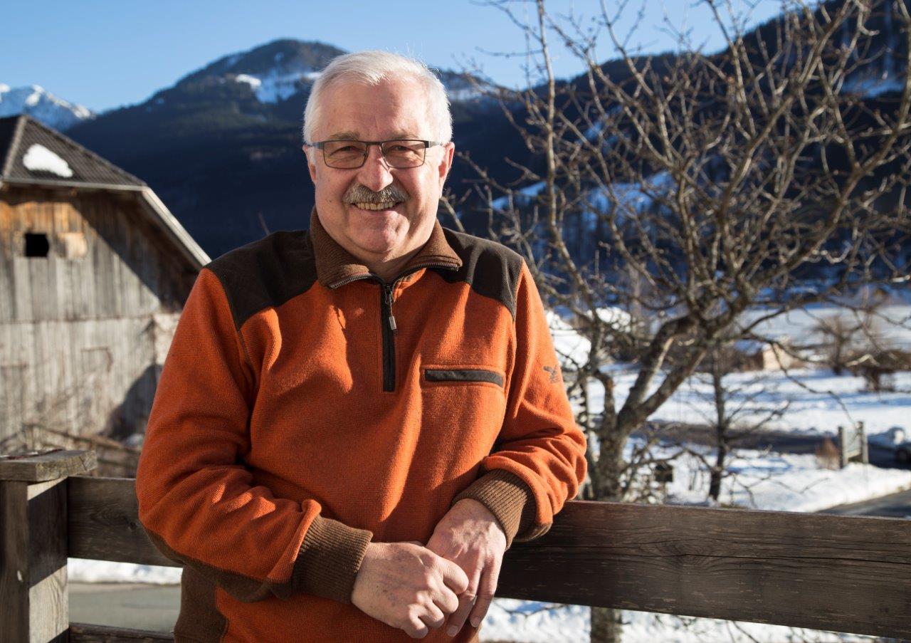 Franz Schier, Vizebürgermeister und Vorsitzender vom Naturpark Weissensee, Foto Anita Arneitz