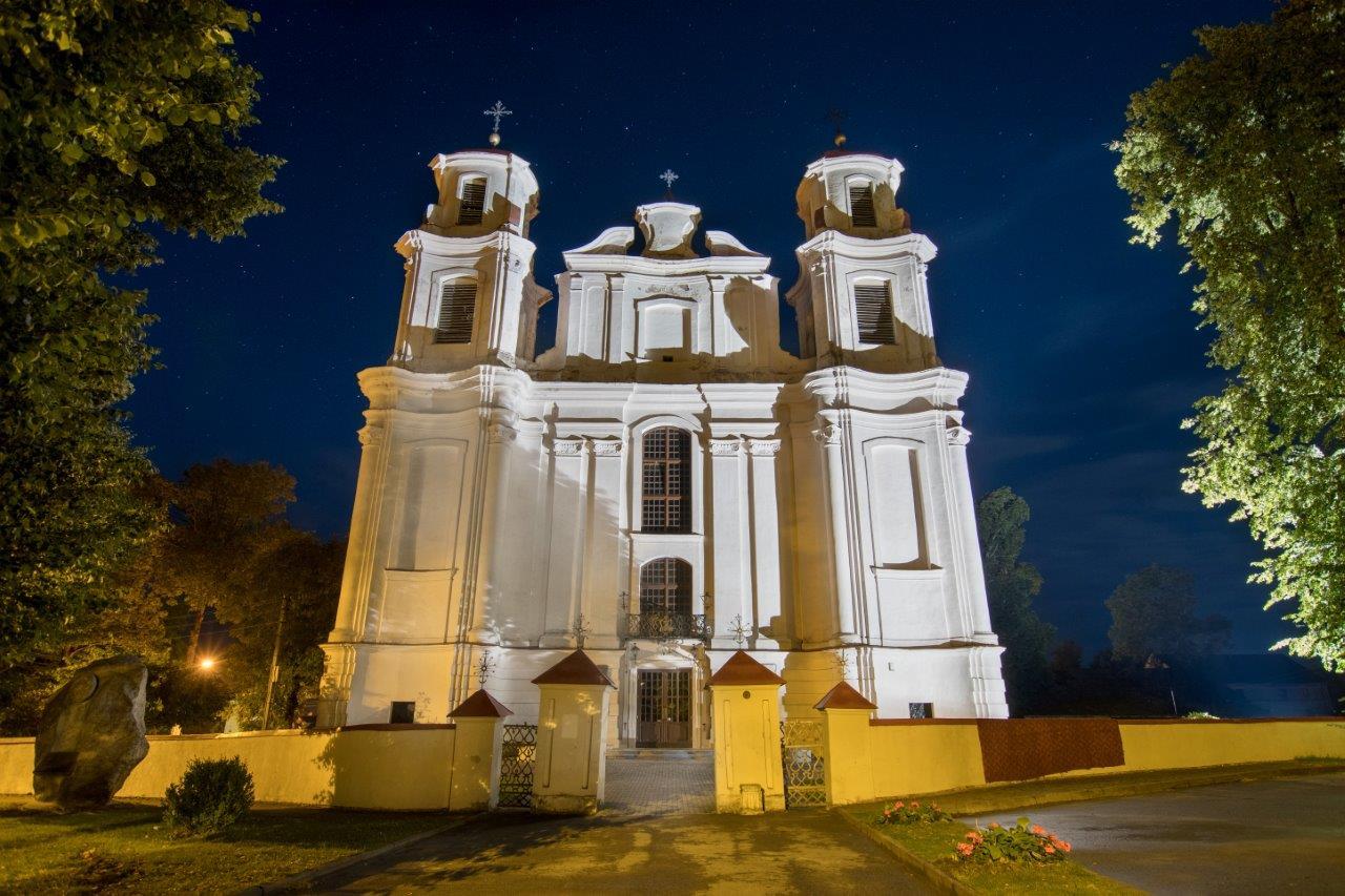 Barockkirche in Jieznas, Reisetiipp Litauen