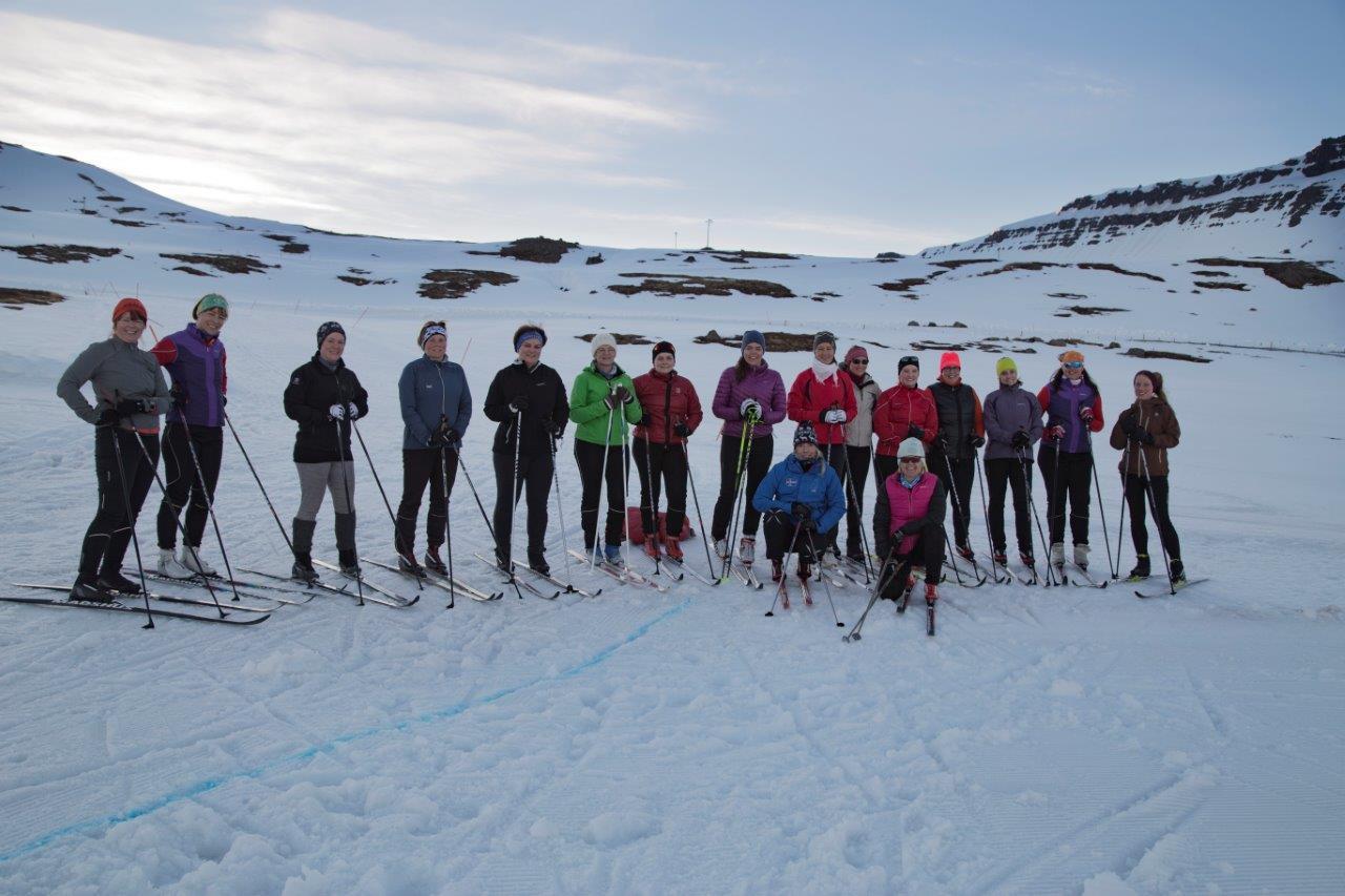 Tipps fürs Langlaufen in Island, Westjorde, Fossavatn, Foto Anita Arneitz, Reiseblog www.anitaaufreisen.at