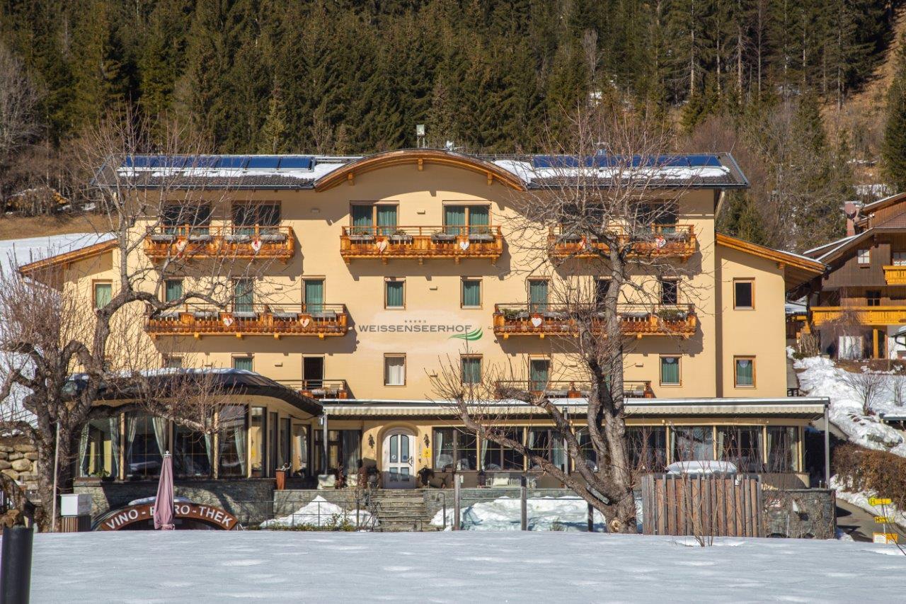 Weissenseerhof im Winter, Day-Spa, Foto Anita Arneitz, Reiseblog www.anitaaufreisen.at