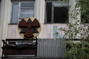 Pripyat Kulturzentrum, Sperrzone Tschernobyl, Foto Anita Arneitz
