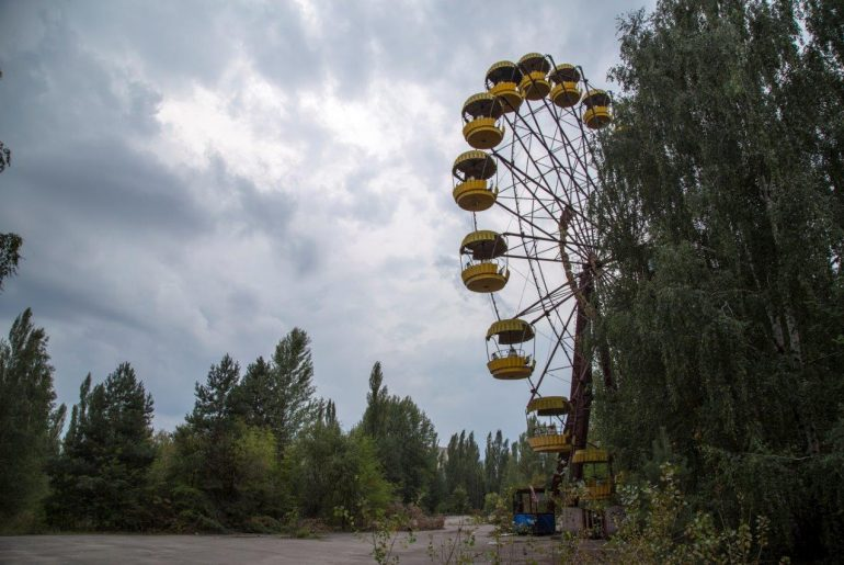 Tschernobyl, Chernobyl Tour, Ukraine, Kraftwerk, Foto Anita Arneitz