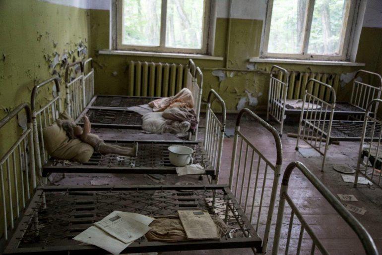Dorf Zalissya in der Sperrzone von Tschernobyl, Foto Anita Arneitz