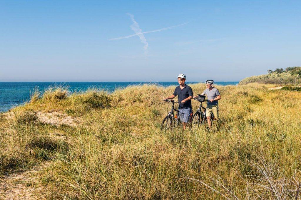 Radfahren entlang der Ostseeküste Mecklenburg, Foto: Andreas Süße, TV MV