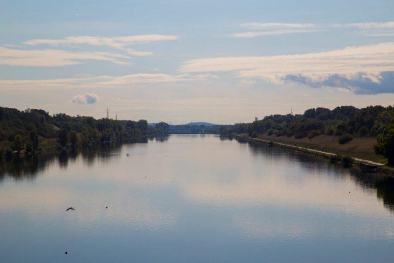 Brücke, Donau, Wien, Foto Anita Arneitz