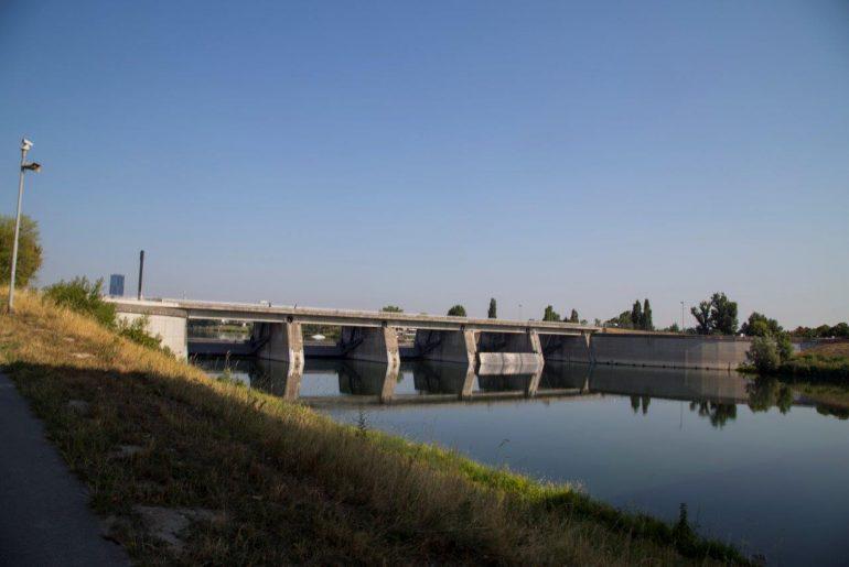 Nicht schön, aber wichtig für den Hochwasserschutz Wiens, Foto Anita Arneitz
