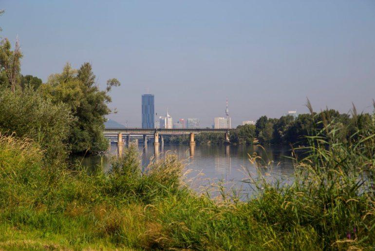 Naturparadies Donauinsel in Wien_Radfahren_Foto Anita Arneitz