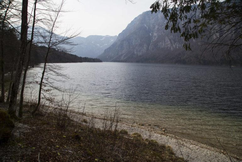 Bohinj See in Slowenien