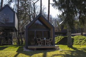 Glamping an der Drau in Slowenien