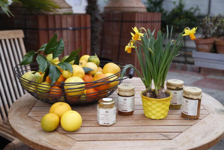 Zitronen in der Küche