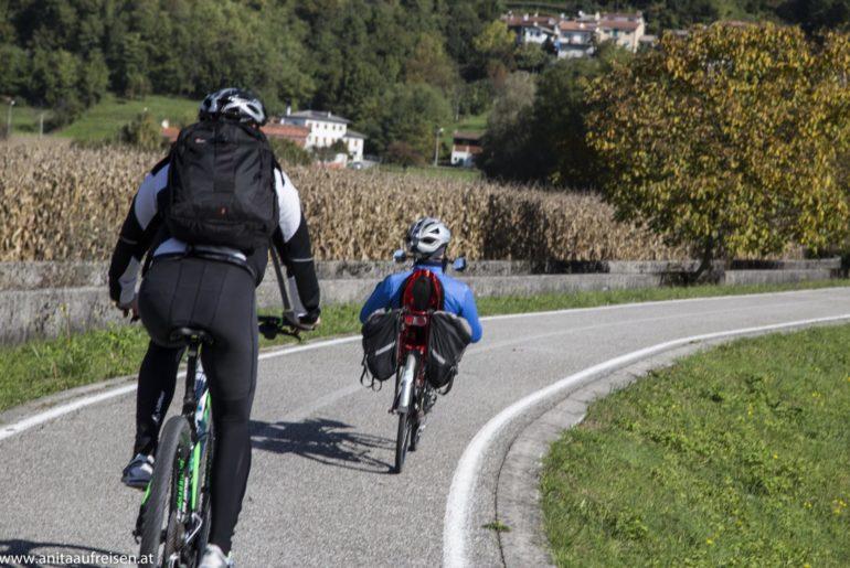 Radtour in den Karnischen Alpen