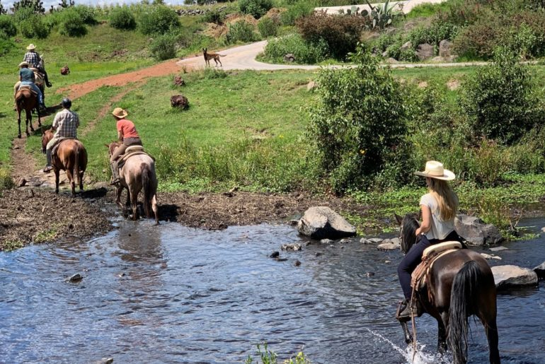 Reiten in Mexiko
