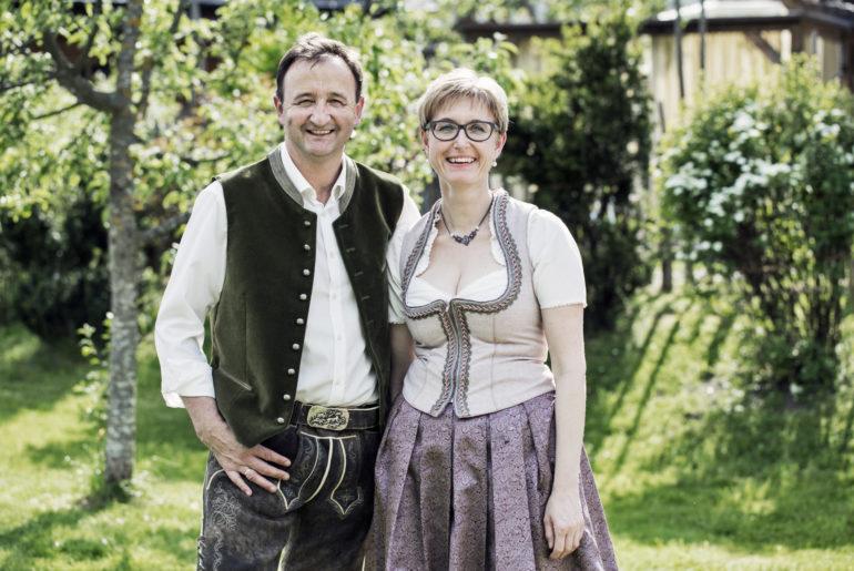 Sepp Fischbacher mit seiner Frau