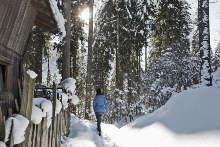 Großarltal im Winter