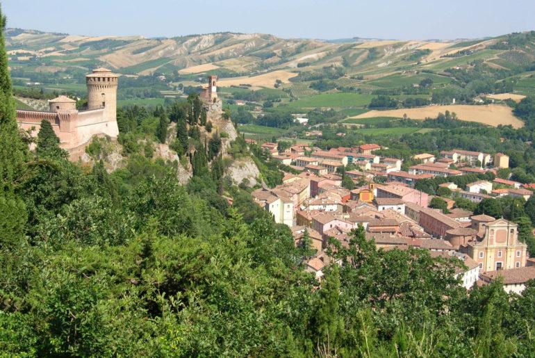 Dörfer in der Emilia-Romagna