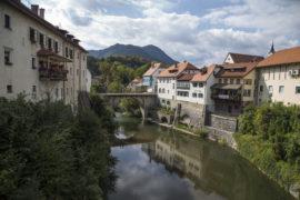 Sloweniens historische Städte