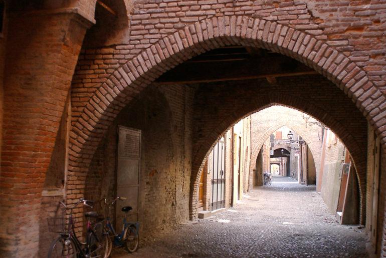 Via Volte in Ferrara
