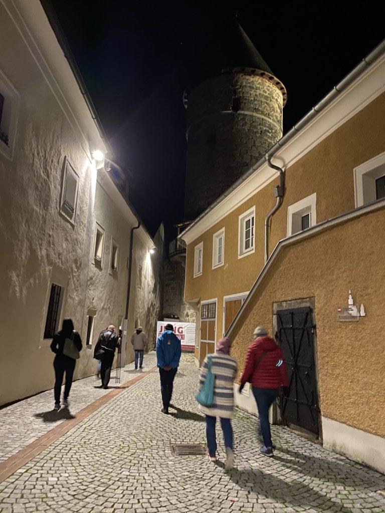 Der Nachtwächter in Freistadt