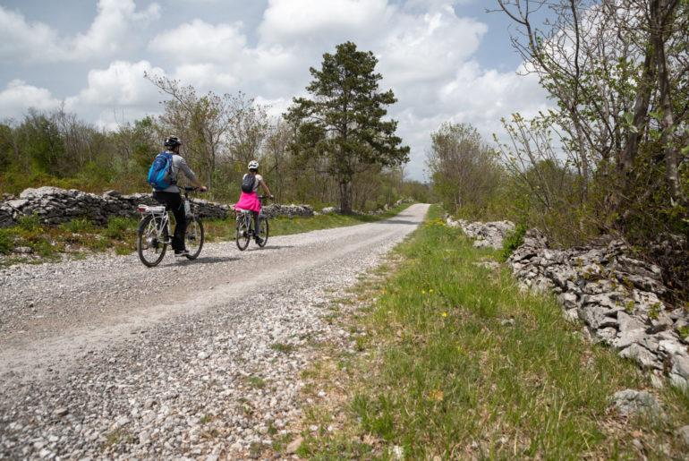Radtour slowenischer Karst