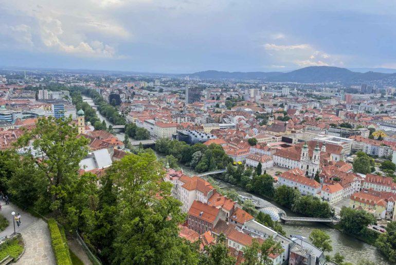 Picknick Schlossberg Graz